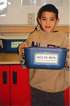 Crestwood paper reuse box