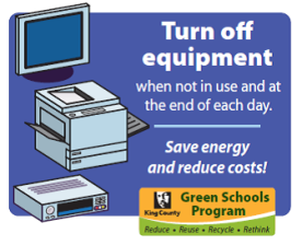 Turn Off Equipment Save Energy