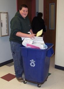 RecyclepaperStudent