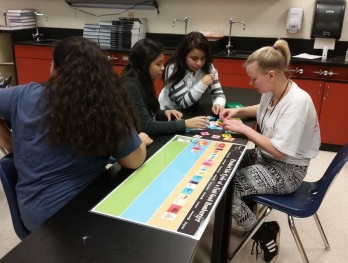 secondary workshop photo-climate change game
